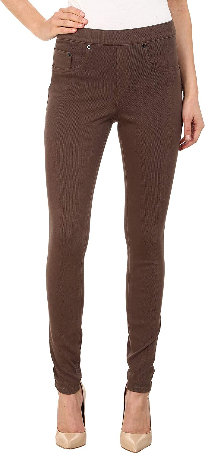 90260f2f03f7d SPANX Women's Jean-ish Twill Shaping Legging, Sienna Brown, XS X 29 at  Amazon Women's Clothing store: