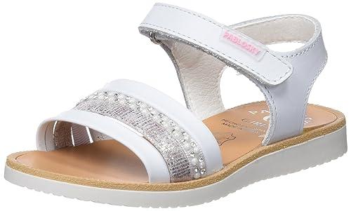 328ad6ff63f Pablosky 453800, Sandalias con Punta Abierta para Niñas: Amazon.es: Zapatos  y complementos