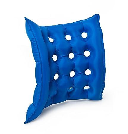 JYtop® Medical Silla de Ruedas Aire cojín Hinchable colchón Anti próstata Evitar decúbito Ideal para prolongado Sentado con Bomba FDA aprobación CE 17 ...
