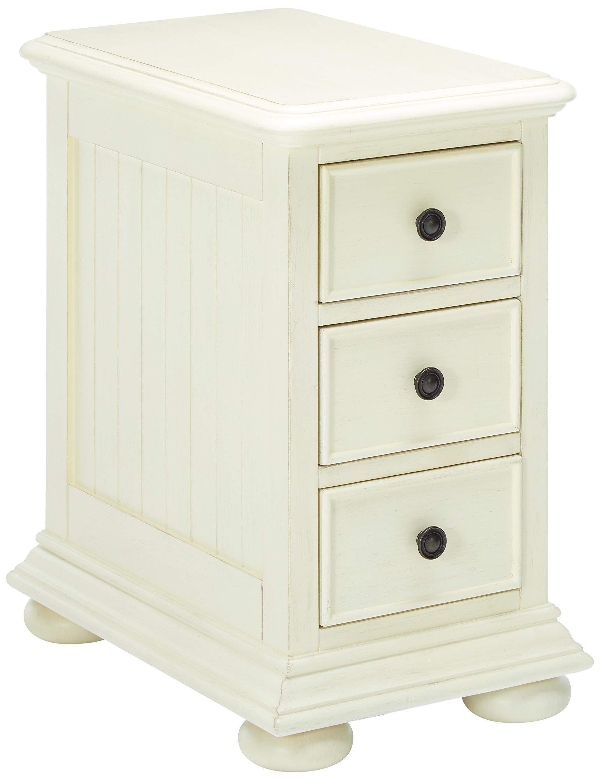 Pulaski  Coastal Chairside White Accent Chest Cabinet by Pulaski
