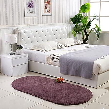 Ukeler Anti Skid Shaggy Area Rug Dining Room Home Bedroom Carpet Floor Mat Super Soft
