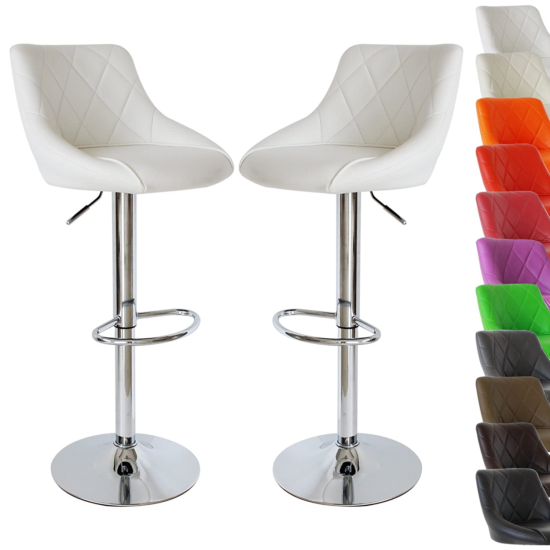 Woltu 9181 A 2 X Lot De 2 Chaises Design Tabouret De Bar Chaise Avec