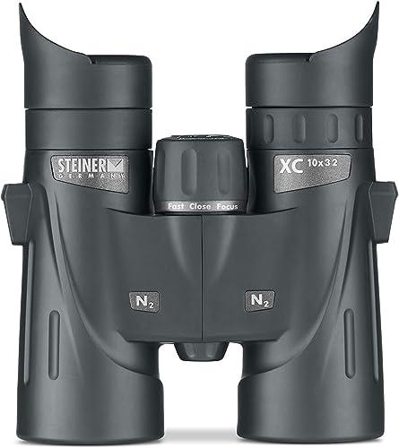 Steiner XC 10×32 Binoculars – Versatile Outdoor Binoculars for Hiking, Birding, Sporting Events