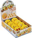 Emoji Universe: Emoji Faces Light Up Yo-Yos (8-Pack); YoYo Collection