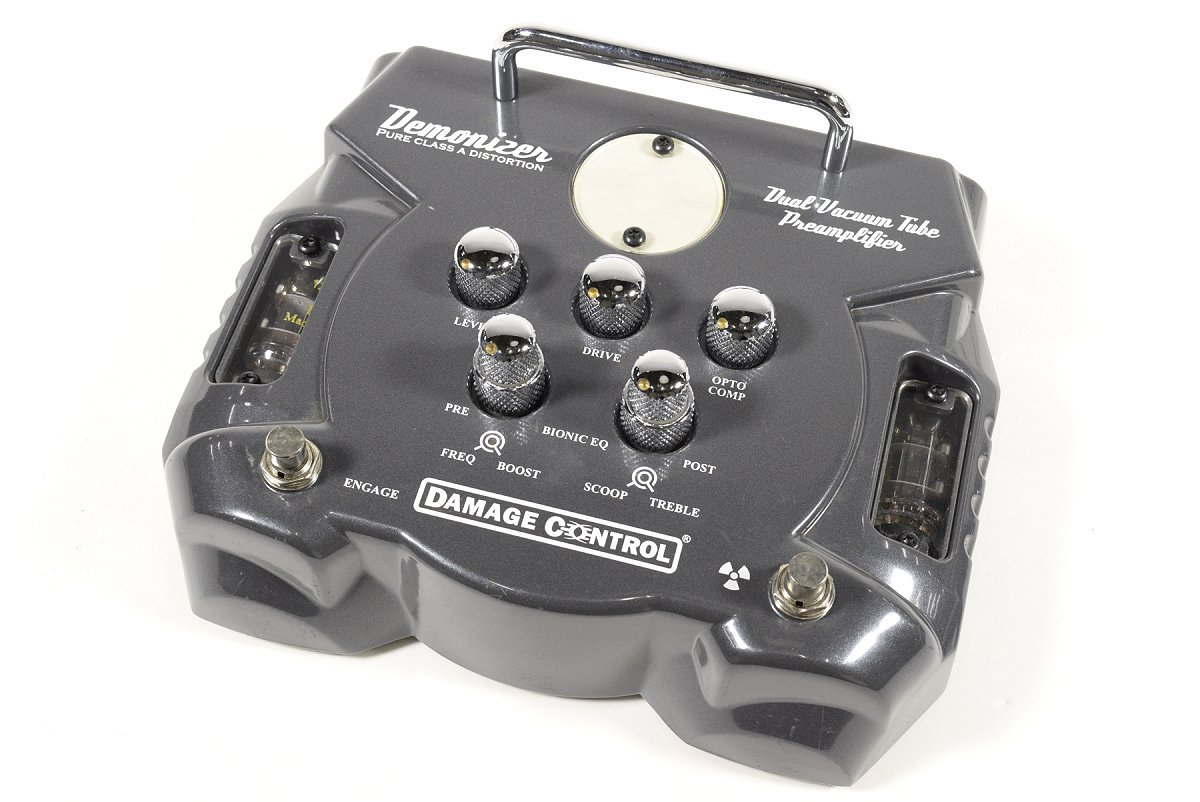 【中古】DAMAGE CONTROL DEMONIZER Pure Class A Distortion ダメージコントロール ギター用プリアンプ B01EC16DQC