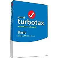 intuit turbotax Basic 2017 FED + efile PC/Mac Disco