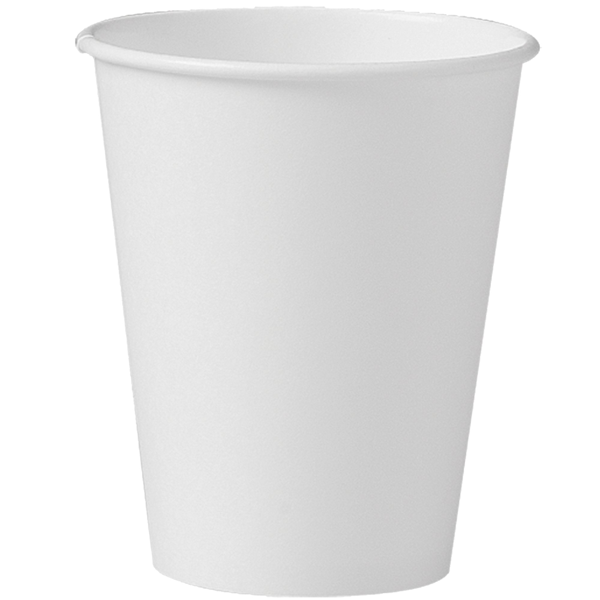 Solo 378W-2050 8 oz White SSP Paper Hot Cup (Case of 1000) by Solo Foodservice (Image #1)
