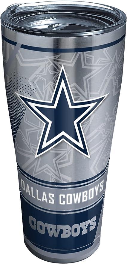 Dallas Cowboys metal tumbler 30 0Z