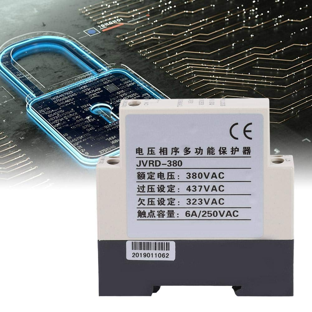 Phase Sequence Protection Relay​,JVRD-380 Phase Sequence Protection Relay Monitoring Voltage Control Device 380VAC