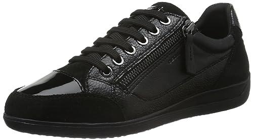 ba412f0b134 Geox D Myria A, Zapatillas para Mujer: Amazon.es: Zapatos y complementos