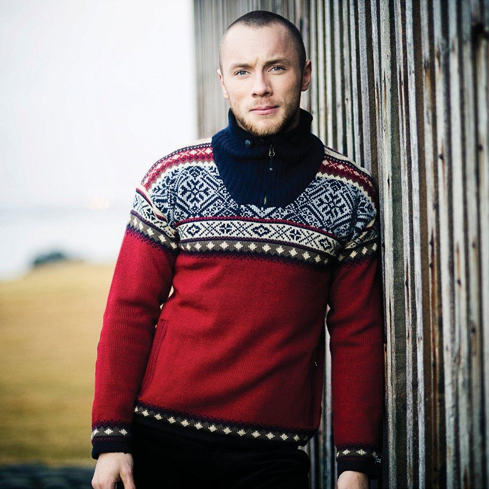 914bd4145bcc ICEWEAR Bergen Men s Norwegian Lined Sweater at Amazon Men s ...