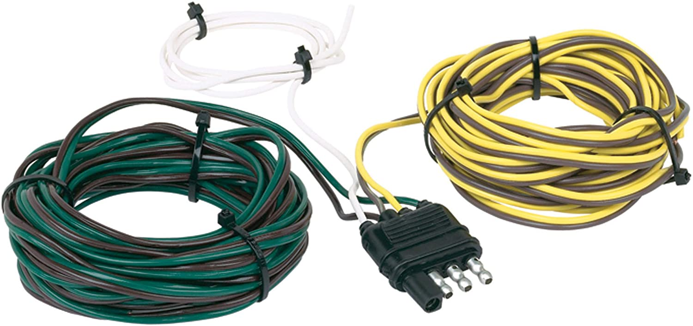 Amazon Com Hopkins 48265 30 4 Wire Flat Trailer Side Y Harness Connector Automotive
