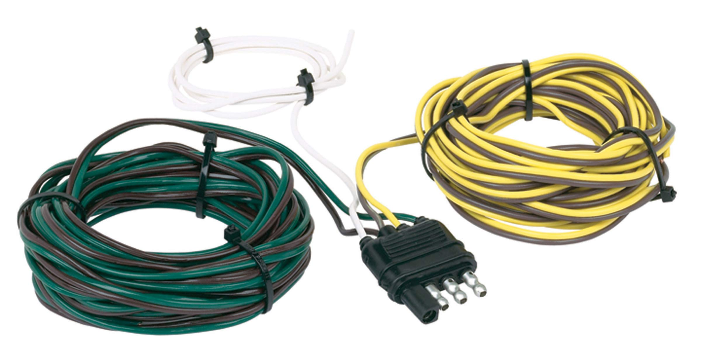 Hopkins 48265 30' 4 Wire Flat Trailer Side Y-Harness Connector by Hopkins Towing Solutions