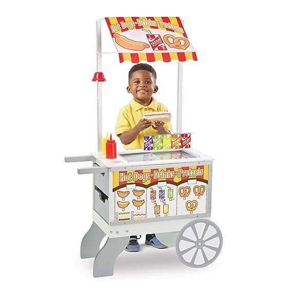 Melissa & Doug Imbisswagen Spielzeug und Eiswagen für Kinder