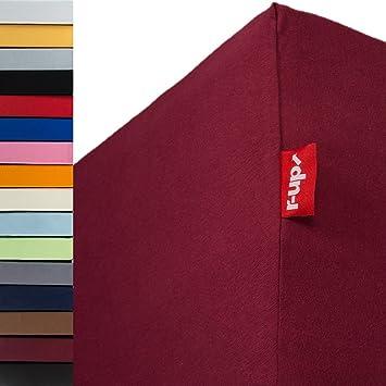 R Up Passt Spannbettlaken 180x200 200x220 Bis 35cm Höhe Viele Farben
