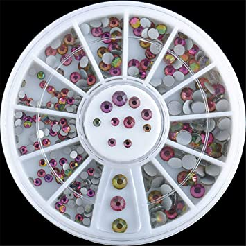 Wholesale 3D Acrylic Nail Art Tips Decoration Glitter Rhinestones ...