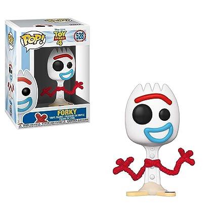 Funko- Pop Vinilo: Disney: Toy Story 4: Forky Figura Coleccionable, Multicolor (37396)