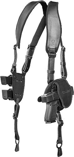 Alien Gear ShapeShift Shoulder Holster (Black Leather) for Concealed or Open Carry