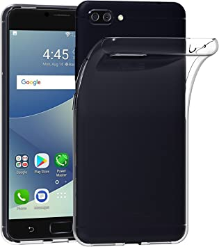 ivoler Funda Carcasa Gel Transparente para ASUS Zenfone 4 MAX/ASUS ...