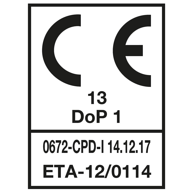 Spax Cond.1 000 /Ø mm.3,5 Vis tete fraisee empreinte torx ou etoile-acier zingue blanc L//Lf mm.20