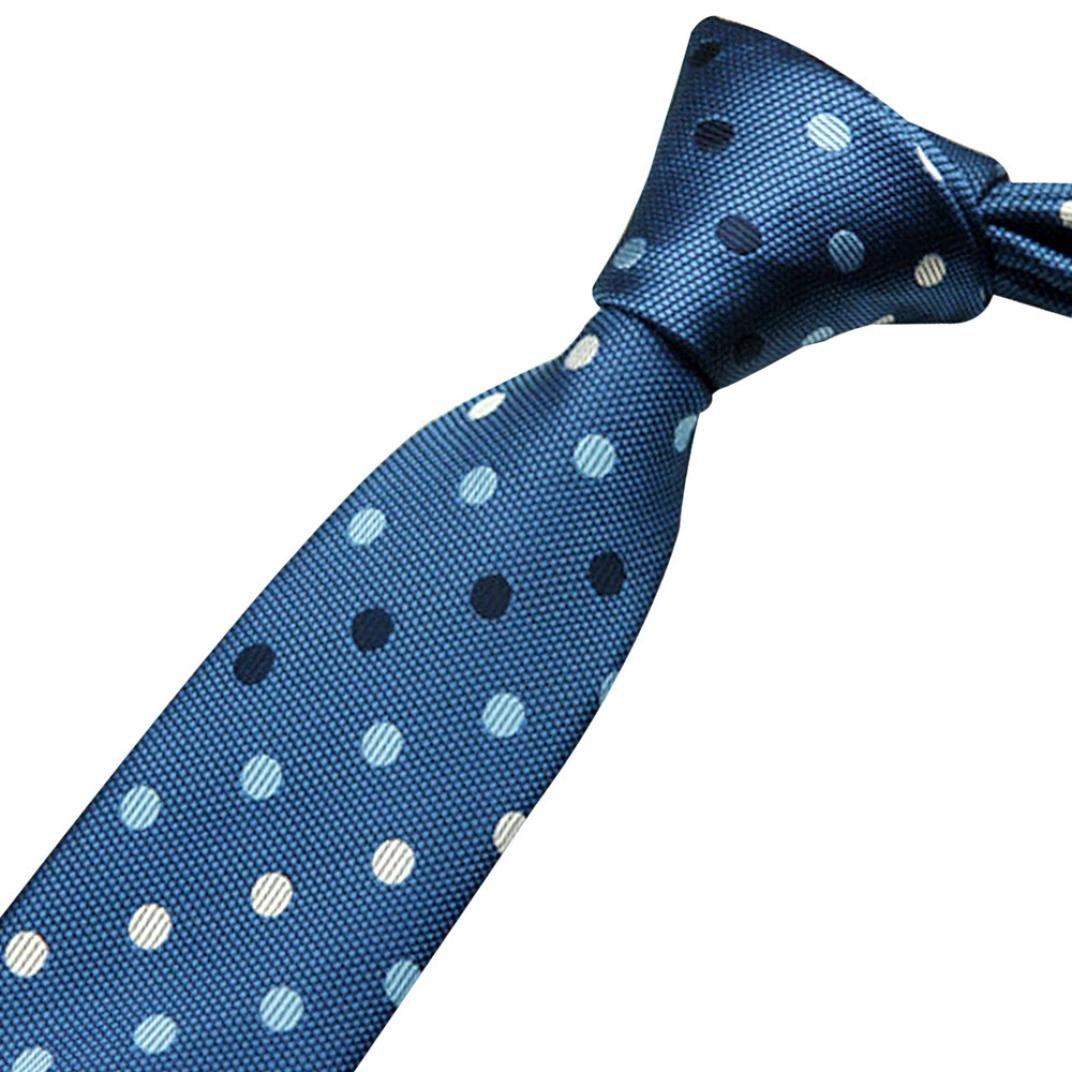 Vovotrade Accesorios hombre cuello corbata business casual de vestir corbatas