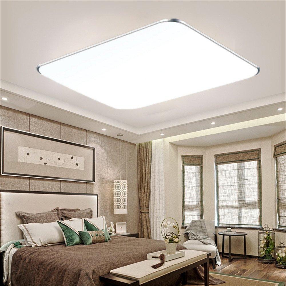 MCTECH 12W blanc froid Plafonnier LED Ultraslim Plafonnier moderne couloir salon lampe chambre cuisine /économies d/énergie Lumi/ère Applique murale