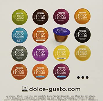 Nescafe Dolce Gusto Capsules, Mocha, 16 ct: Amazon.com: Grocery & Gourmet Food