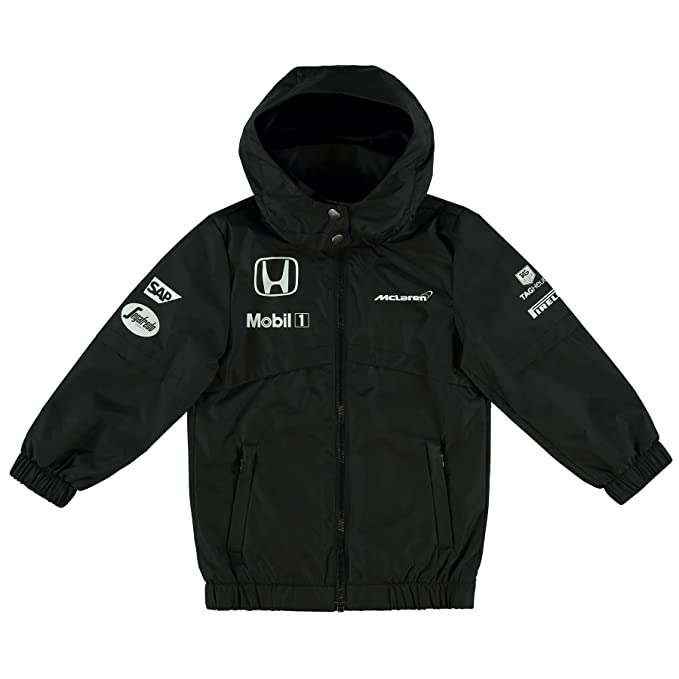 McLaren Honda Replica Team chaqueta Kids negro Lb: Amazon.es ...