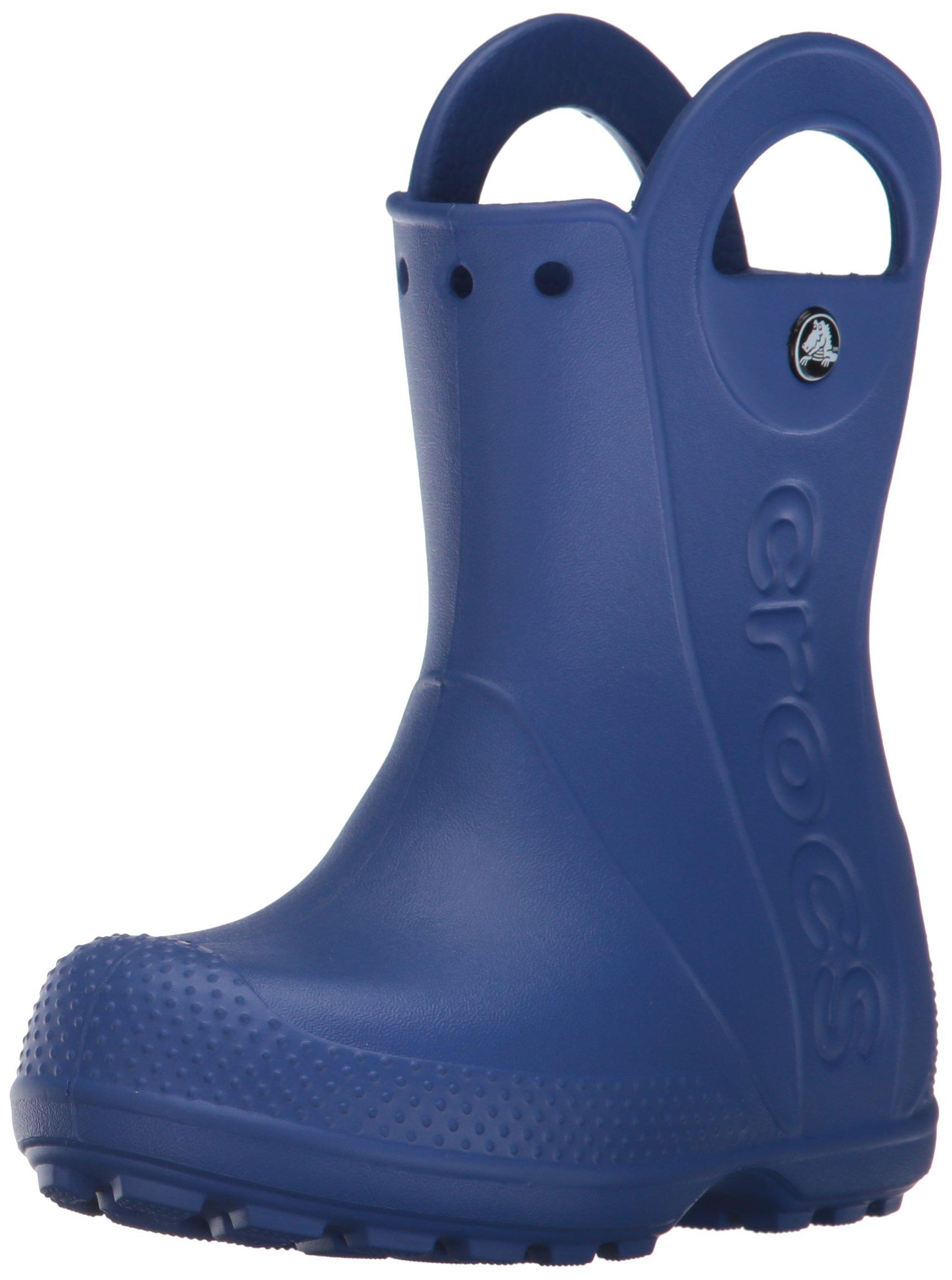 Crocs Kids' Handle It Boot,Cerulean Blue,10 M US Toddler