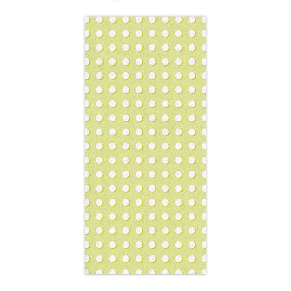OxOHome Custom Bath Towel Quick Dry Absorbent Towels Spa Shower Wrap for College Dorms, Gyms, Locker Rooms, 27.5 x 55 inch - Yellow Polka Dot Geometric