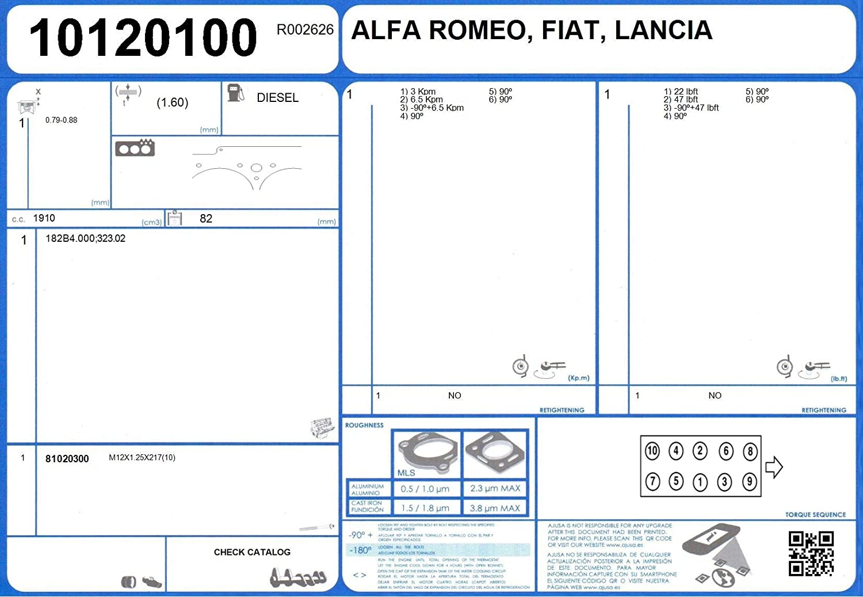 Ajusa 10120100 Gasket cylinder head