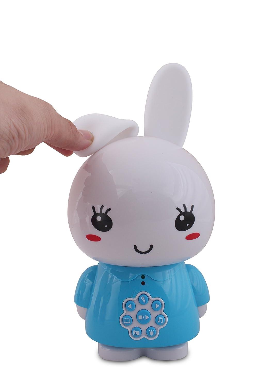 G6ROUG Inconnu Alilo Honey Bunny Lapin Lecteur mp3 Veilleuse 24cm x 12cm x 12cm-312g