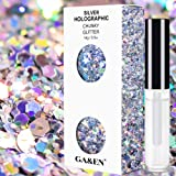 Silver Holographic Chunky Cosmetic Glitter Body Hair Face Eye Nail for Festival Carnival Concert Party Beauty Rave Accessorie