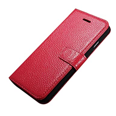coque iphone 6 rouge cuir