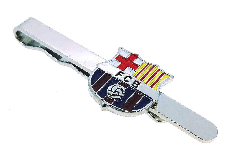 Gemelolandia Pasador de corbata del FC. Barcelona a Color: Amazon ...