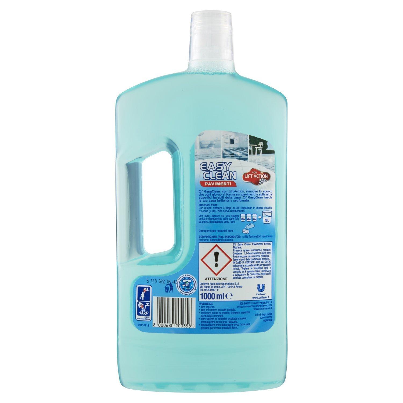 Cif - Detergente, Easy Clean Pavimenti, Con Lift-Action, Brezza ...