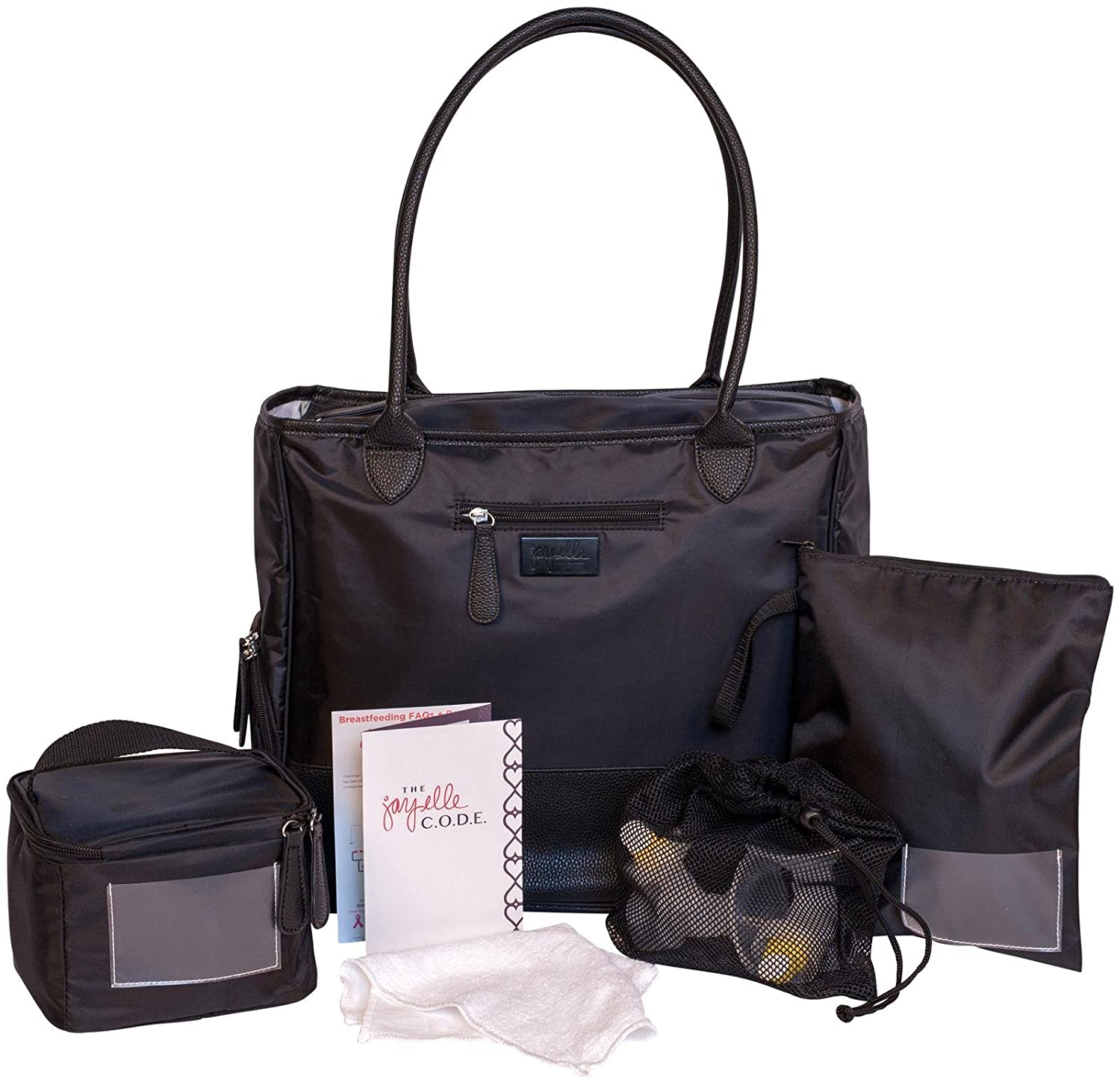 c53d4c2c2a Amazon.com   jay elle by J.L. Childress Breast Pump Bag 6-Piece Set ...