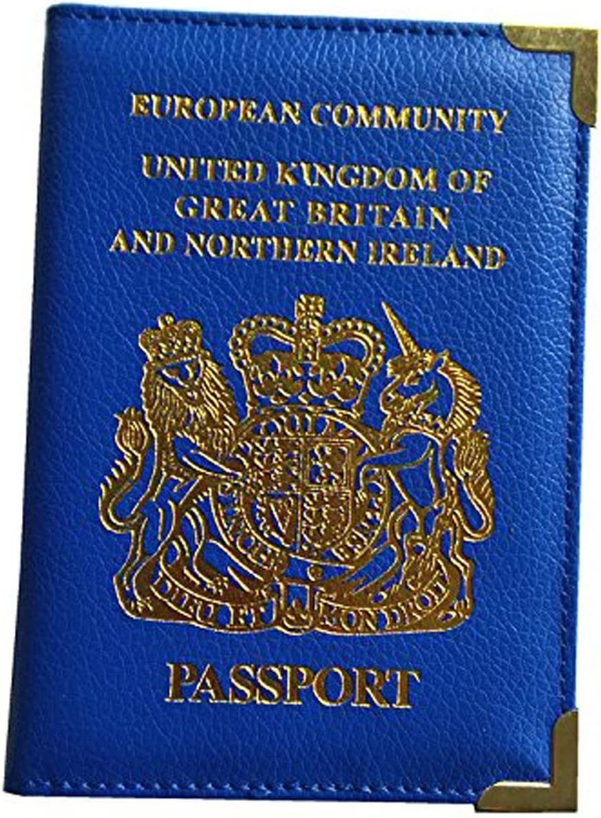 Viskey – Reino Unido y European Titular del Pasaporte Protector Funda Tipo Cartera: Amazon.es: Hogar