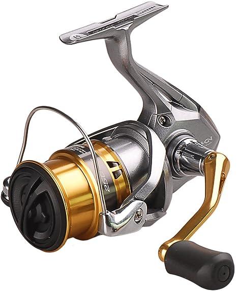 SHIMANO Sedona 2500 S FI, Carrete de Pesca con Freno Delantero, Poco Profundo, SE2500SFI