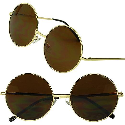 4062244986 Sunglass Stop - Original Small John Lennon 60 s Vintage Round Sunglasses  Metal Circle Hippy Glasses