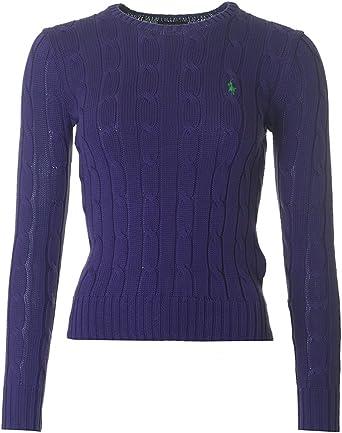 Polo Ralph Lauren V39 WSW Polo Sweaters Jersey, Morado, XL para ...