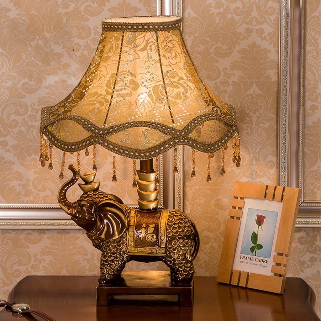 Mesa Uk De Lámpara Elephant Resin Retro Table Lamp Classical Health 5jq4ALR3