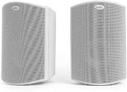 Polk Audio Atrium 5 WHITE Indoor /& Outdoor Speakers  NEW PAIR