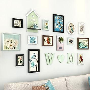 Amazon.com: @Decorative frame Living Room Photo Frames ,12 Pcs/sets ...