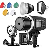 "Godox AD600BM 600Ws GN87 HSS Flash Strobe Monolight with 8700mAh Battery, 600W Portable Lamp Flash Head, 23""X23"" Flash…"