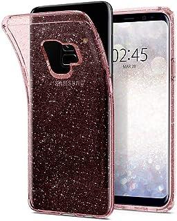 Spigen Liquid Crystal Glitter Funda Galaxy S9 con Protección TPU flexible y ligero para Samsung Galaxy