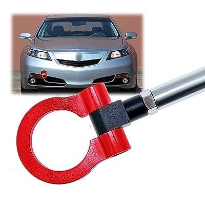 Xotic Tech JDM Track Racing CNC Aluminum Alloy Tow Hook for Honda S2000 AP1 AP2 Fit Acura TL, Red: Automotive