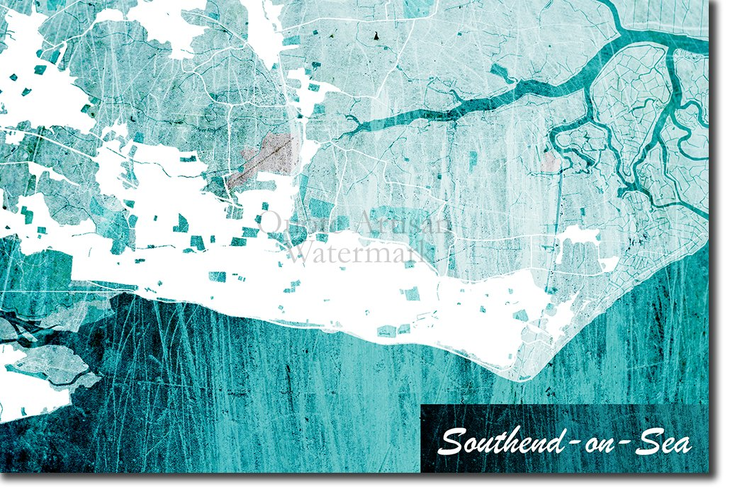 Southend on sea map