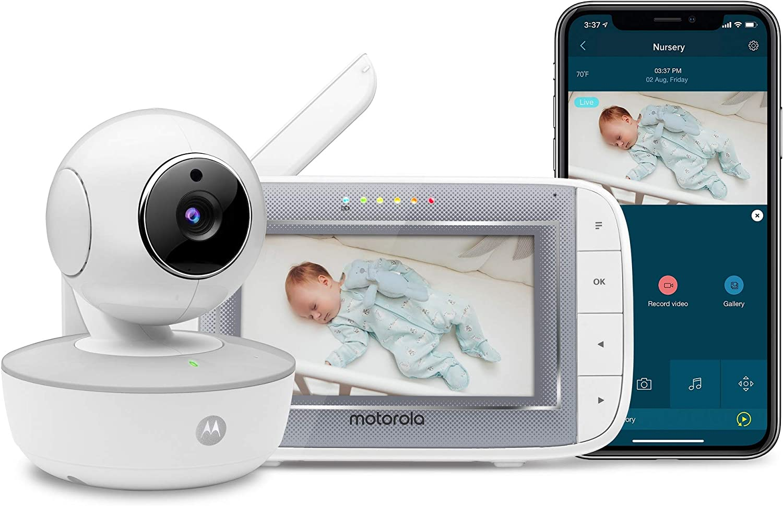 Motorola MBP846CONNECT Monitor de vídeo para bebés con unidad de ...