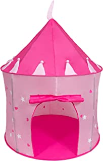 Cinderella USA Girlu0027s Pink Princess Play Castle Pop Up Tent | Play Tent | Girls Tents  sc 1 st  Amazon.com & Amazon.com: Discovery Kids Play Tent Princess Castle: Toys u0026 Games